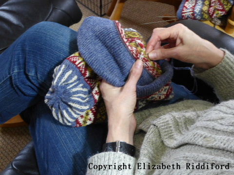 Exclusively Fair Isle - Handknitter's diary